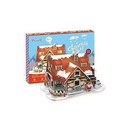 Cubic Fun  Кубик фан Рождественский домик 1 (с подсветкой)