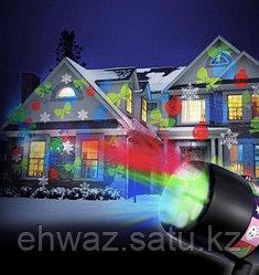 Лазерный новогодний проектор