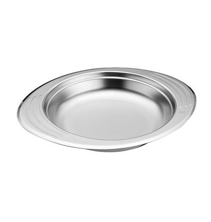 Сервировочное блюдо 1,4 л , диаметр 24 см , высота 4,8 см, ( глубокое )