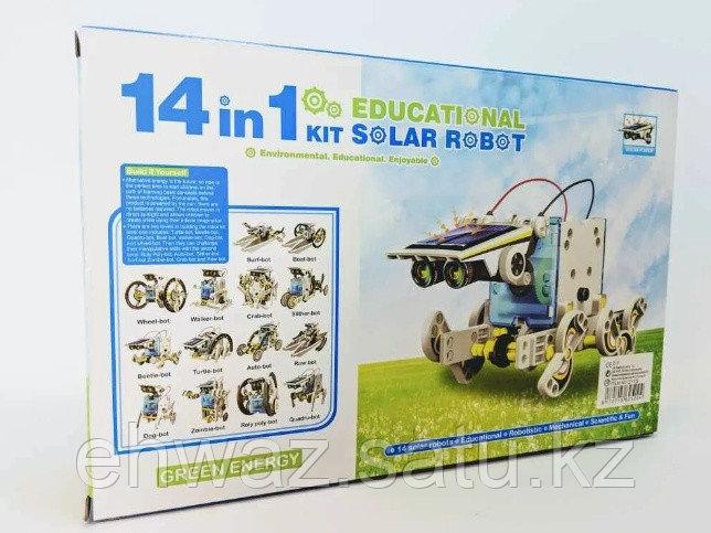 Конструктор на солнечных батареях 14 в 1