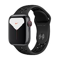 Apple Watch Nike Series 5 44mm Space Gray Aluminum Case with Nike Sport Band, фото 1