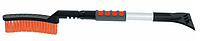 Щетка-сметка для снега со скребком телескопическая 700 - 920 мм // STELS