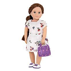 LORI Кукла 15 см в платье с сумочкой