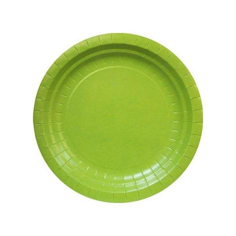 "Тарелка d 230мм, дизайн ""Цвет лайма"", картон, 6 шт, фото 2"