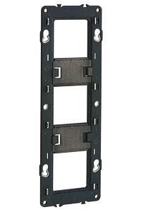 80253 Legrand Суппорт М45 для крепления на винтах, 6M/8М/3Х2М, Mosaic