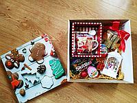 Новогодний подарочный набор с кружкой и фонариком, фото 1