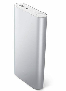 Зарядное устройство портативное Power Bank XIAOMI {10400, 20800 mAh} (Серебро / 20800 мА/ч)