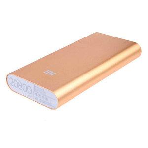 Зарядное устройство портативное Power Bank XIAOMI {10400, 20800 mAh} (Золото / 20800 мА/ч)