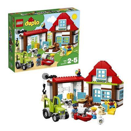 Lego Duplo день на ферме