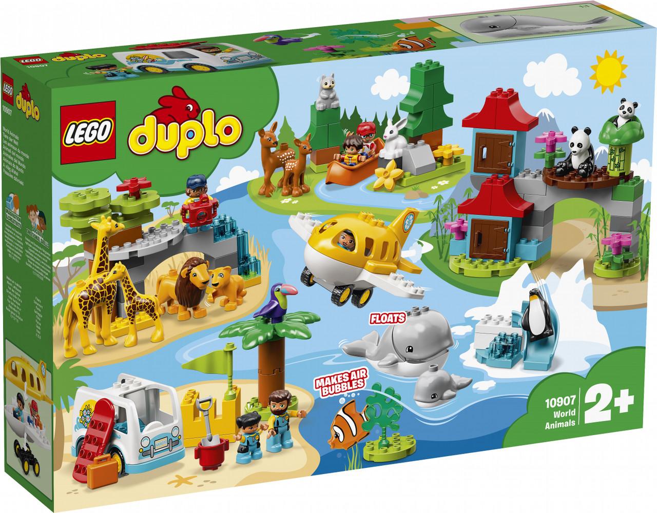 Конструктор  Lego Duplo Животные мира