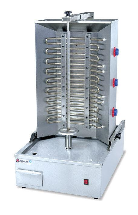 Аппарат донер кебаб, промышленный электрический c мотором, Аппарат для шаурмы, Аппарат для шавермы