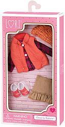 LORI Набор одежды для кукол пуховой жилет