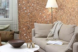 Настенное пробковое покрытие Corkstyle Wall Design Monte White