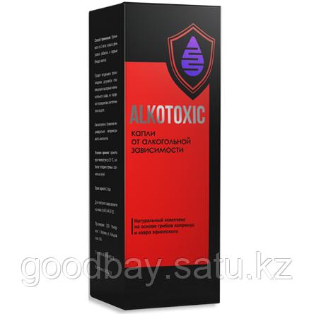 Капли от алкоголизма Alkotoxic (Алкотоксик), фото 2