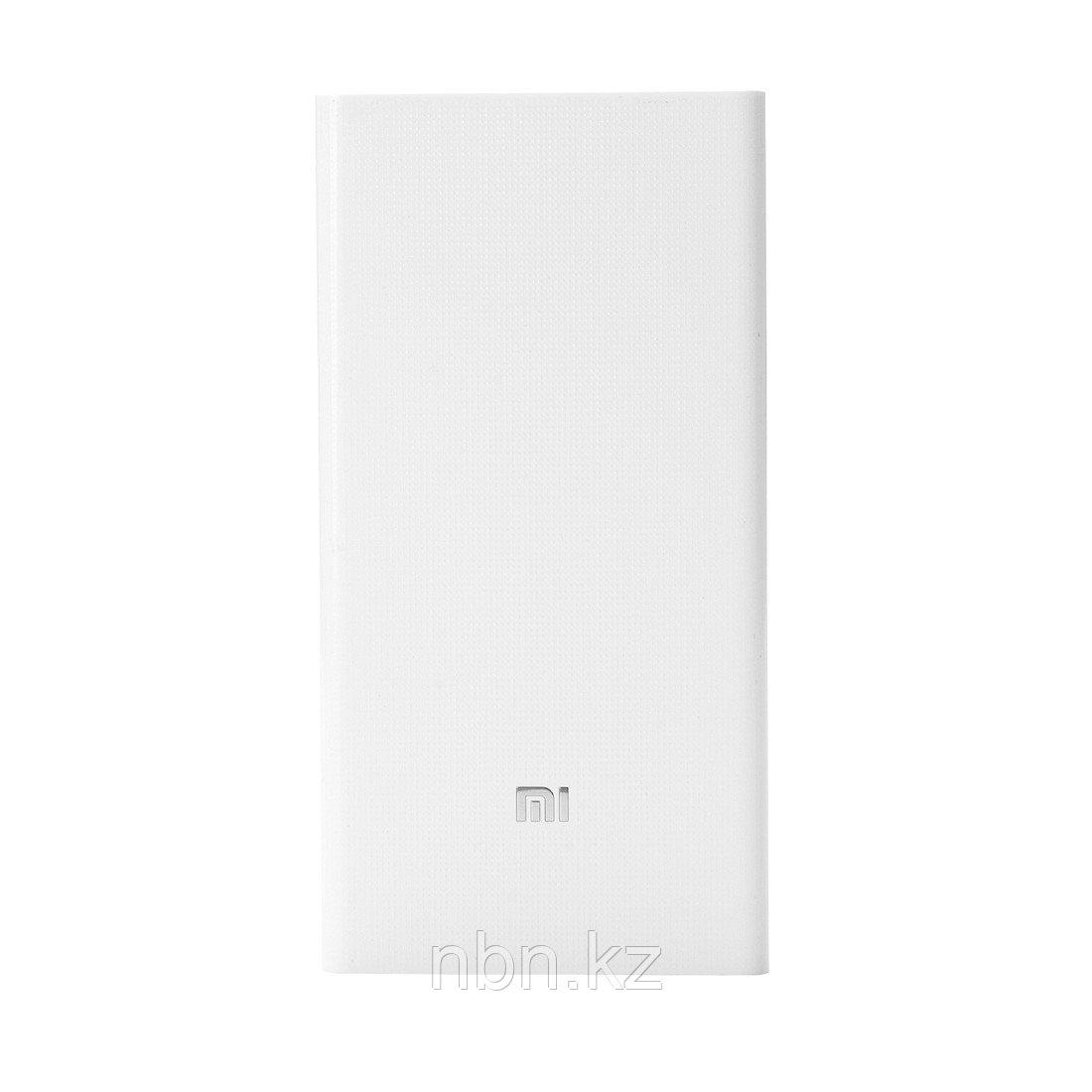 Портативное зарядное устройство Xiaomi Mi Power Bank 20000mAh V2 Белый