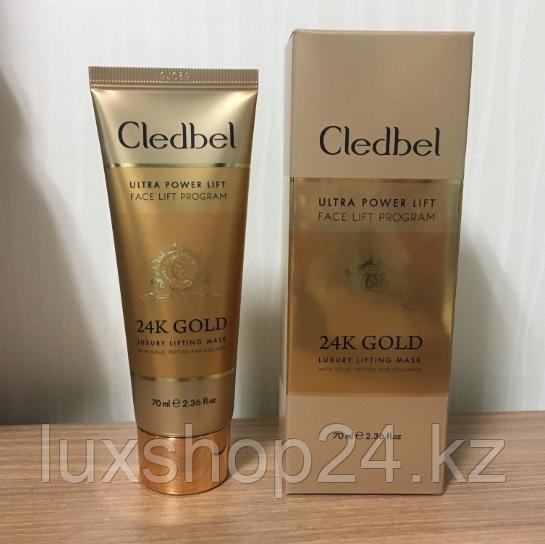 Маска-пленка Cledbel 24K Gold для лица