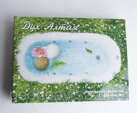 Дух Алтая мараловые бомбочки для ванны, фото 2