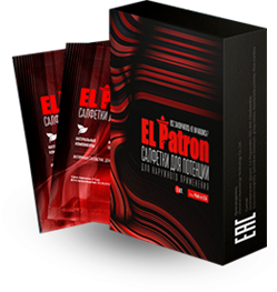 El Patron (Эль Патрон) салфетки для потенции