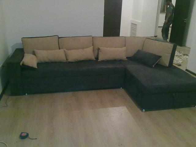Вариант расцветки  и компановки углового дивана