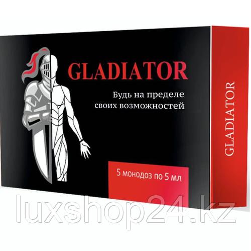Gladiator (Гладиатор) препарат для потенции (5 монодоз по 5 мл)