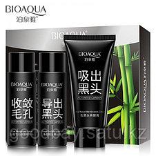Черная маска Bioaqua (набор из 3 средств), фото 2