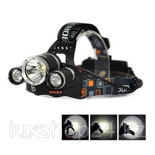 Сверхмощный налобный фонарь Boruit HL-720