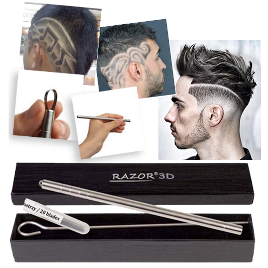 Бритва Razor 3D для для узоров на голове