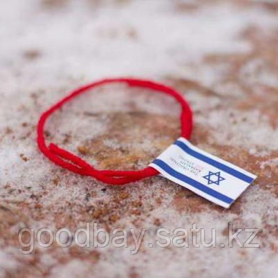 Красная нить на запястье от сглаза из Иерусалима (Израиль)