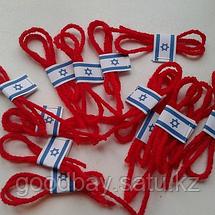 Красная нить на запястье от сглаза из Иерусалима (Израиль), фото 3
