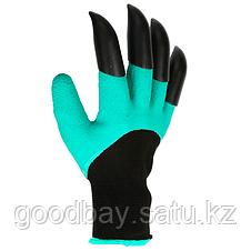 Garden Genie Gloves садовая перчатка с когтями, фото 2