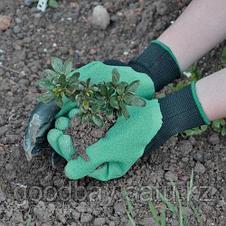 Garden Genie Gloves садовая перчатка с когтями, фото 3