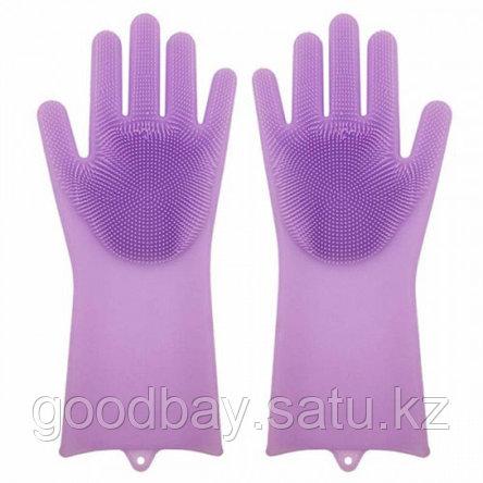 Силиконовые перчатки Magic Brush, фото 2