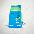 Детский спальный мешок синий, фото 3