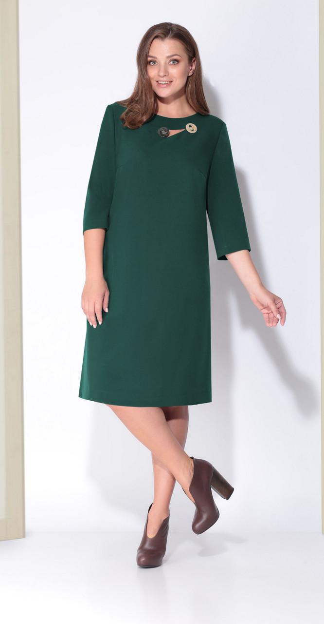 Платье КаринаДелюкс-В-184/2, зеленый, 50