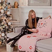 Спальный мешок детский розовый