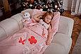 Спальный мешок детский розовый, фото 3