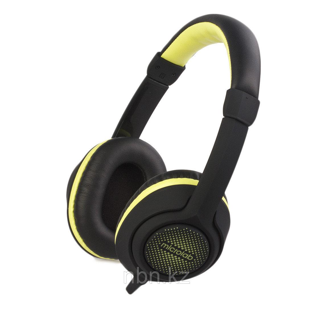 Наушники Microlab K320 Чёрно-Жёлтый