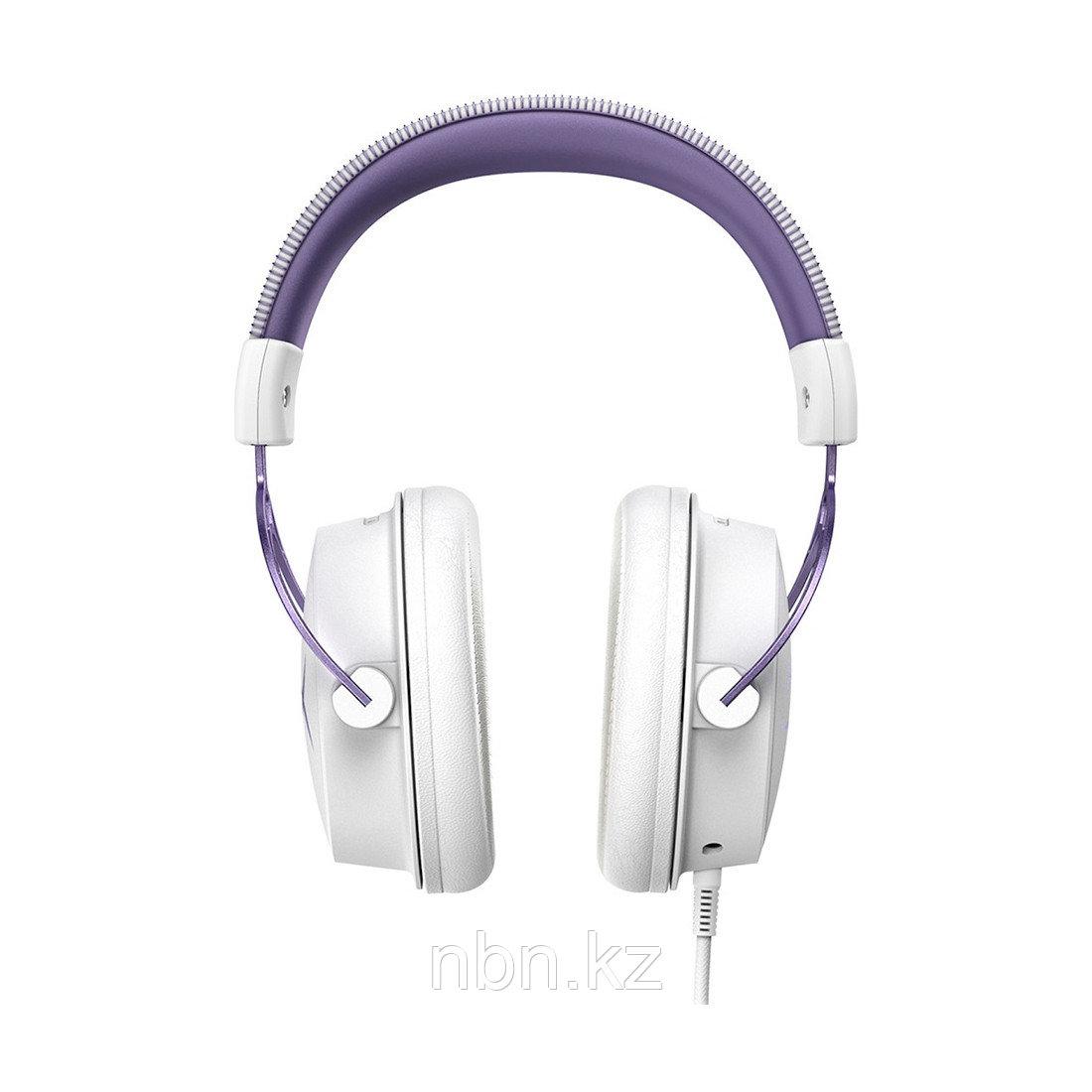 Наушники HyperX Cloud Alpha Purple/White HX-HSCA-PL