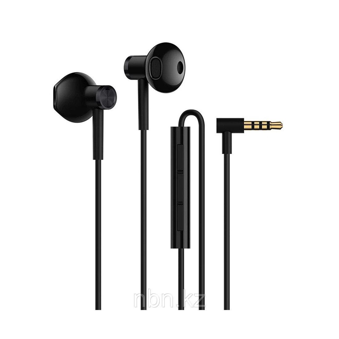 Наушники Xiaomi Mi Dual Driver Earphones Черный