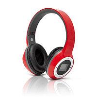 Наушники Global SX-999 Беспроводные с MP3/FM Красный, фото 1