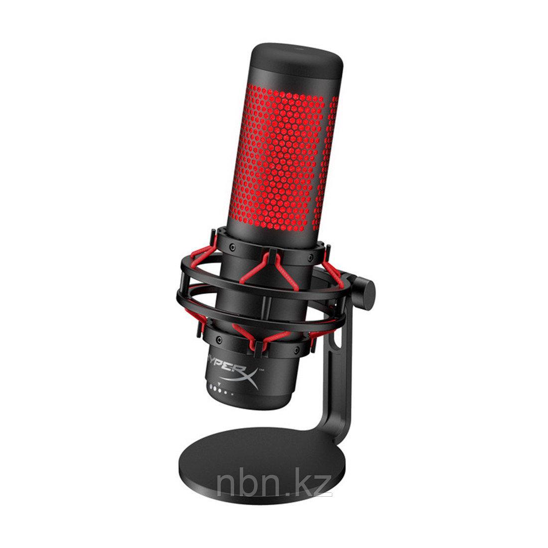 Микрофон HyperX QuadCast Standalon Microphone HX-MICQC-BK