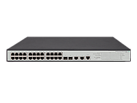 Коммутатор HP OfficeConnect 1950 24G 2SFP+ 2XGT PoE+ (370W) Switch JG962A