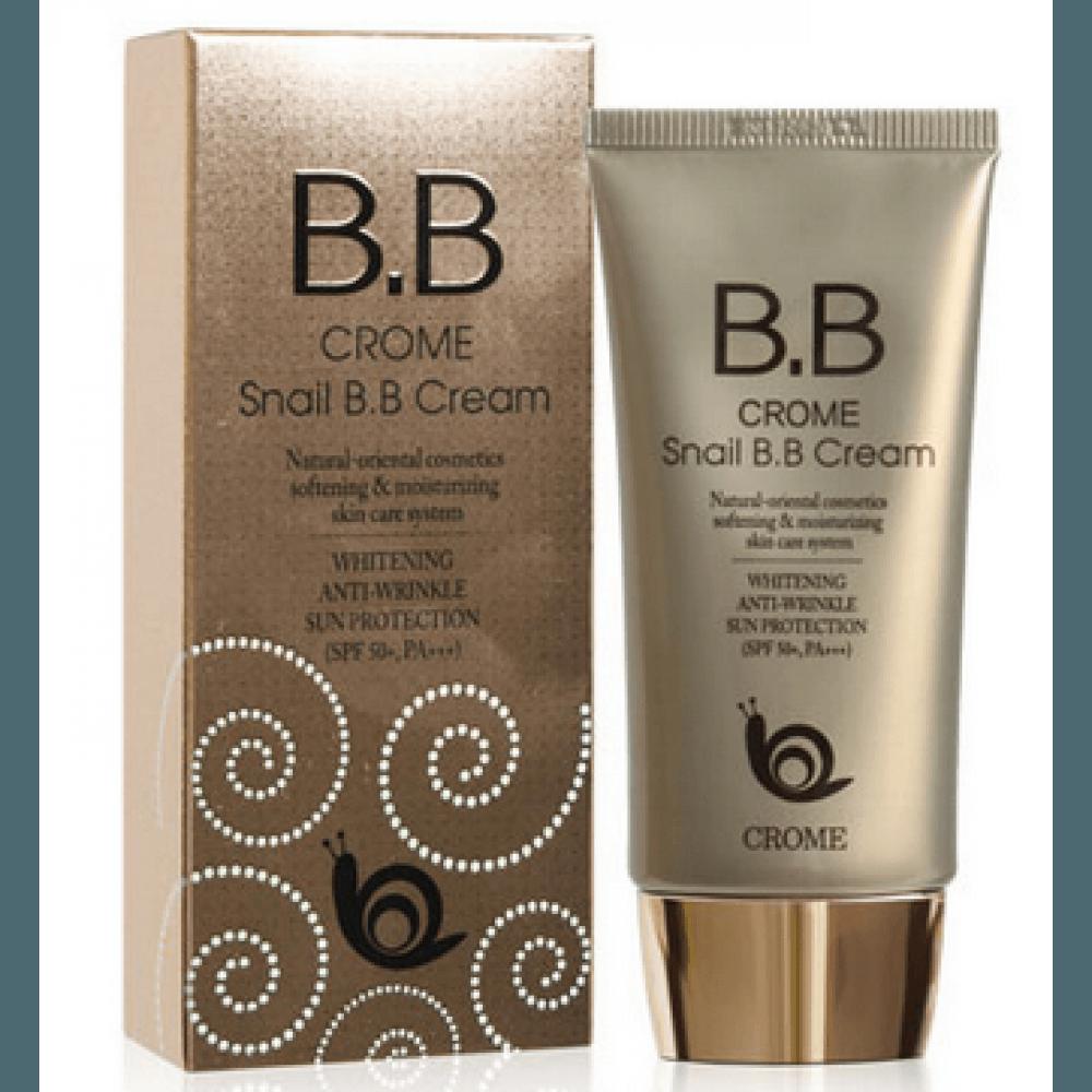 Улиточный ББ крем Crome Snail BB Cream SPF 50/PA+++ 50 ml.