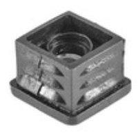 Заглушка для труб 25х25 с метал. резьбой М8