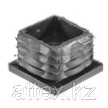 Заглушка для труб 40х40 с метал. резьбой М10
