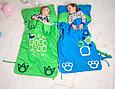 Детский спальный мешок слипик зеленый, фото 4