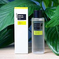 Тонер для лица Coxir Green Tea BHA Clear Toner 150 ml.