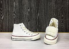 Зимние Кеды Evenstar (White) +Мех