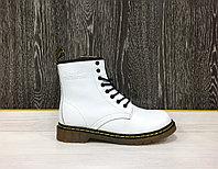 Ботинки зимние Dr. Martens White (с мехом)