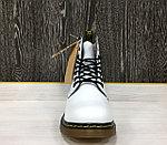 Ботинки зимние Dr. Martens White (с мехом), фото 4